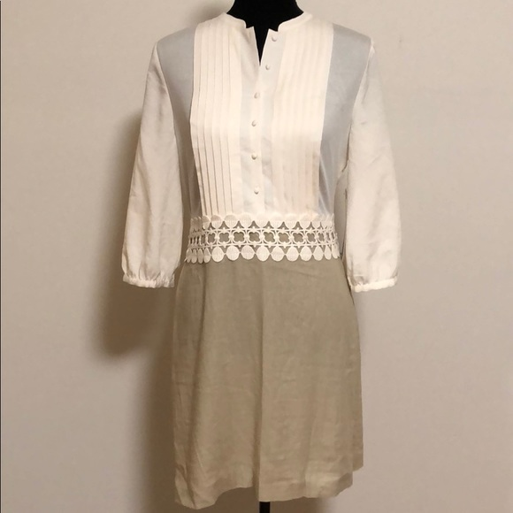 Kensie Dresses & Skirts - New Kensie Linen combo dress size medium